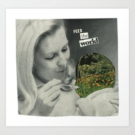 Feed The World Art Print