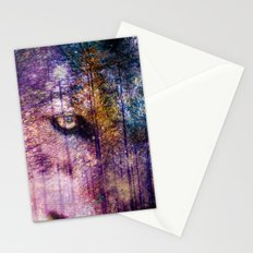Wolf Forest : These Are My Forests Stationery Cards