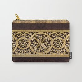 Golden Ornement Carry-All Pouch