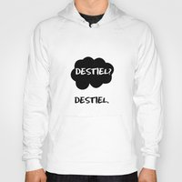 tfios Hoodies featuring Destiel - TFIOS by downeymore