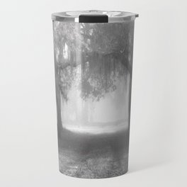 Foggy Evergreen Travel Mug