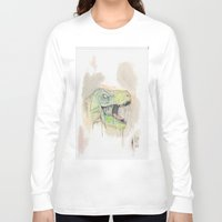 t rex Long Sleeve T-shirts featuring T-Rex by BijanSouri