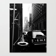 New York Street Canvas Print
