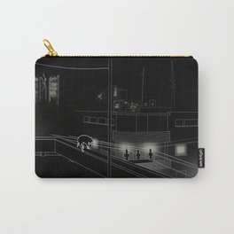 Dog on the roof Carry-All Pouch