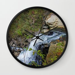 Waning Days Wall Clock