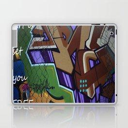 Art is set you free Laptop & iPad Skin