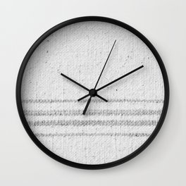 VINTAGE FARMHOUSE GRAIN SACK Wall Clock