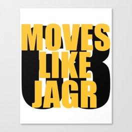Moves Like Jagr Canvas Print