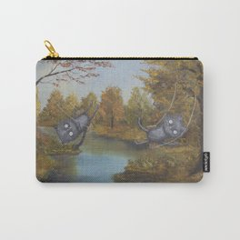 Enough Room To Swing A Cat or Two Carry-All Pouch