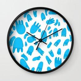 Medusas pequeñas Wall Clock