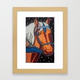 Celestic Horse Framed Art Print