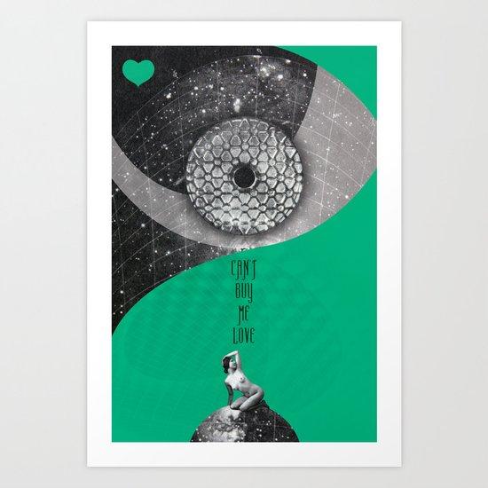 Can't buy me Love (Rocking Love series) Art Print