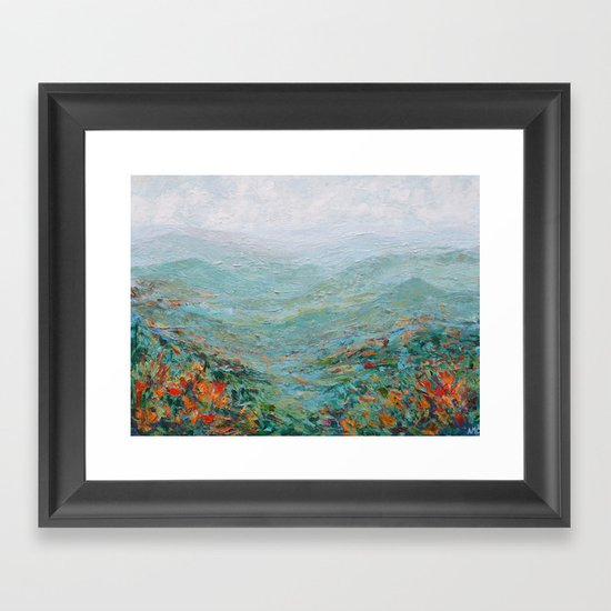 Blue Ridge October by annmariecoolick