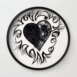 """If I Had A Heart, This Is What It Would Look Like"" Wall Clock"