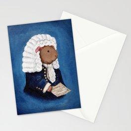 Johann Sebastian Bach the Guinea Pig Stationery Cards