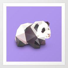 Panda. Art Print