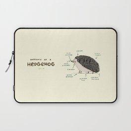 Anatomy of a Hedgehog Laptop Sleeve