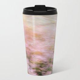 Abstract Heather Metal Travel Mug
