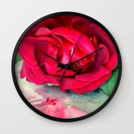 Over And Under Wraps Wall Clock