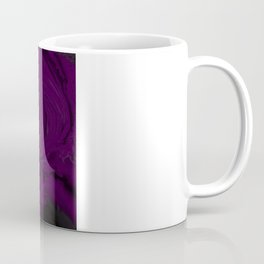black and purple swirls  Coffee Mug