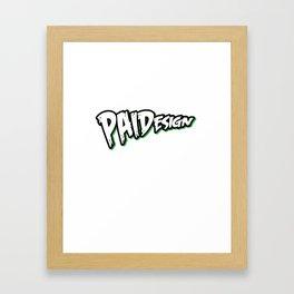 PAIDesign Logo Framed Art Print