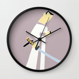 Jack-no lines Wall Clock