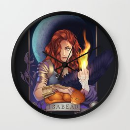 Intro to Isabeau Wall Clock