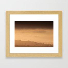 Hazy Days   Berkley, California Framed Art Print