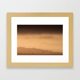 Hazy Days | Berkley, California Framed Art Print