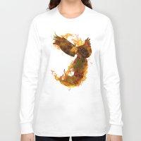phoenix Long Sleeve T-shirts featuring Phoenix by Barruf
