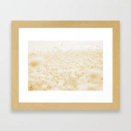 Bunny Tails Framed Art Print