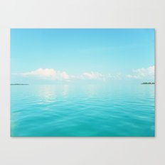 Sky/Sea Canvas Print