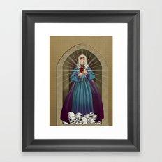 Ici bas Framed Art Print