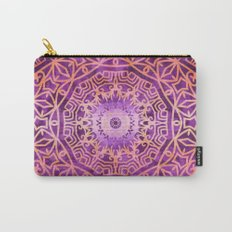 Mandala Pink Night Carry-All Pouch