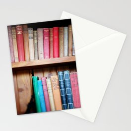Old Library of love Stationery Cards