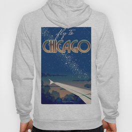 Fly to Chicago Hoody