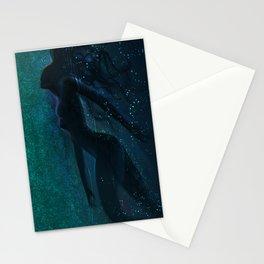Summer night Stationery Cards
