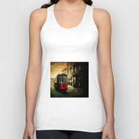 istanbul Tank Tops featuring Istanbul by pinarinadresi
