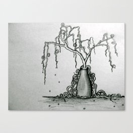Wilted Plant Canvas Print