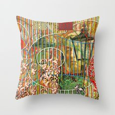 Being for the Benefit of Mr. Liddell's Daughters (2) Throw Pillow