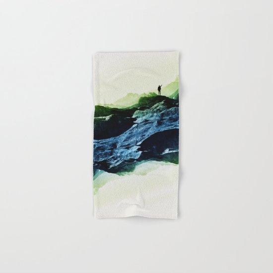 Blue Contact Hand & Bath Towel