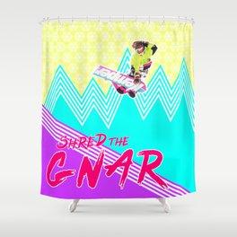 Shred the GNAR 02 Shower Curtain