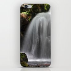 Waterfall at Lumsdale Mill iPhone & iPod Skin