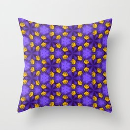 Purple Passion Throw Pillow