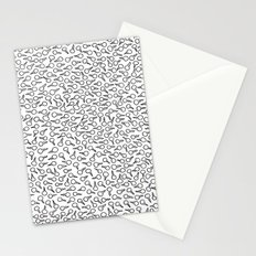 Sperm Pattern Stationery Cards