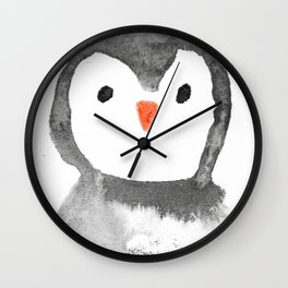 Mr. Penguin Wall Clock