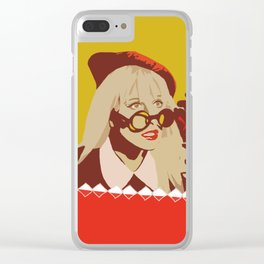 I Told You So Hayley Williams Pop Art Clear iPhone Case