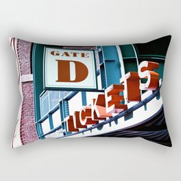 Fenway Gate D Tickets Rectangular Pillow