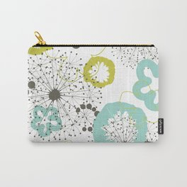Flower a background Carry-All Pouch