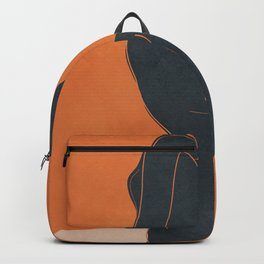 Abstract Nude IV Backpack